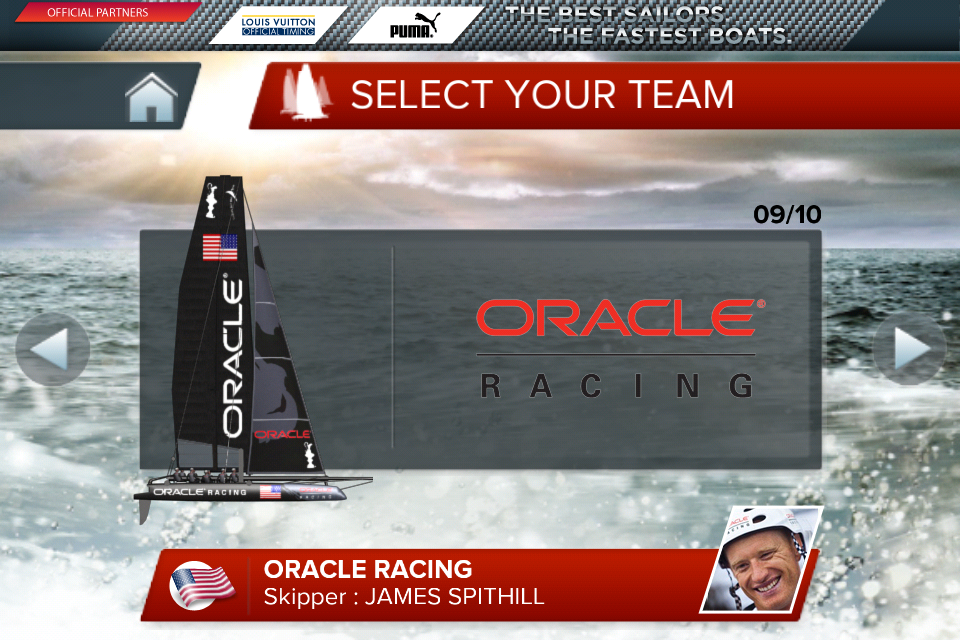 Screenshot America's Cup – Speed Trials